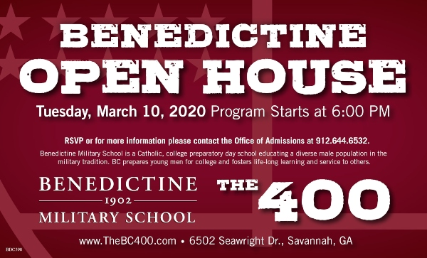 Benedictine Open House 2020 Savannah schools