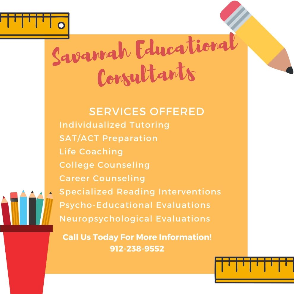 Savannah Educational Consultants Tutoring