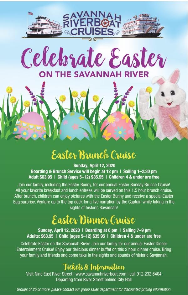 Savannah Easter Cruise Easter Bunny 2020 Spring