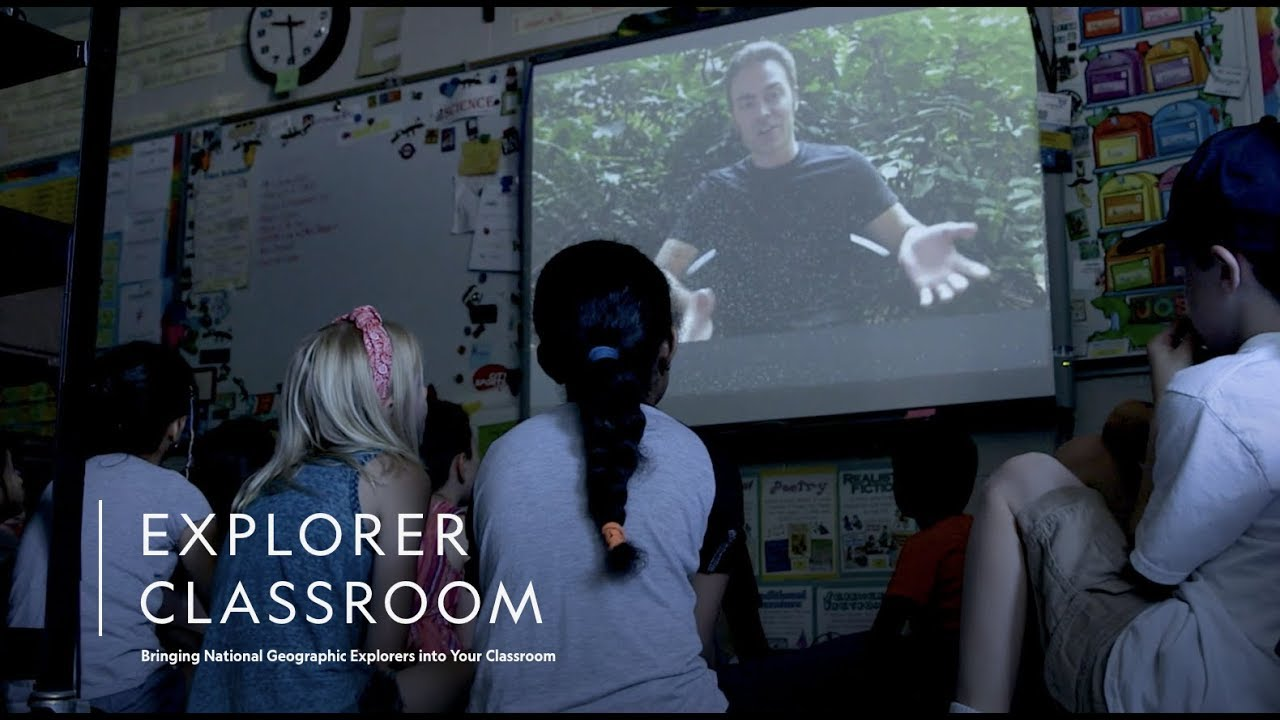National Geographic Explorer classrooms