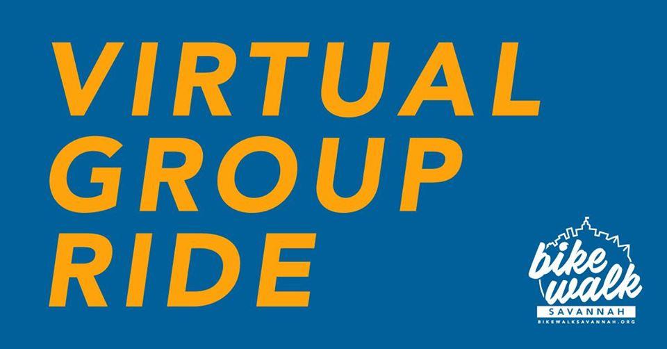 Virtual Bike Group RIde Savannah