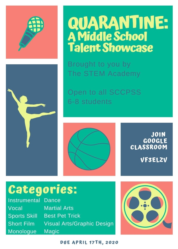 Talent Show STEM middle school savannah 2020
