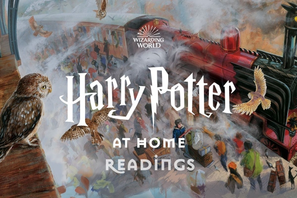 Harry Potter at Home Readings Free Savannah Radcliffe