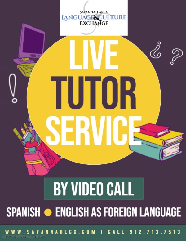 live tutor service spanish Savannah