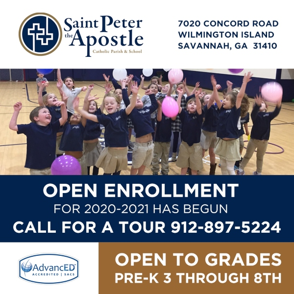 Savannah schools private Saint Peter the Apostle