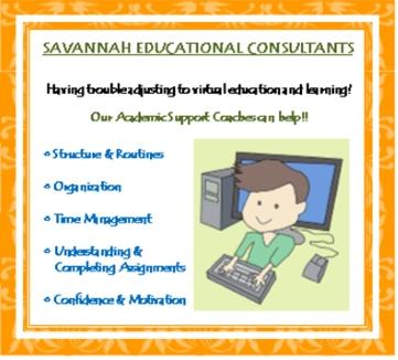 Savannah Educational Consultants tutoring academic coaching