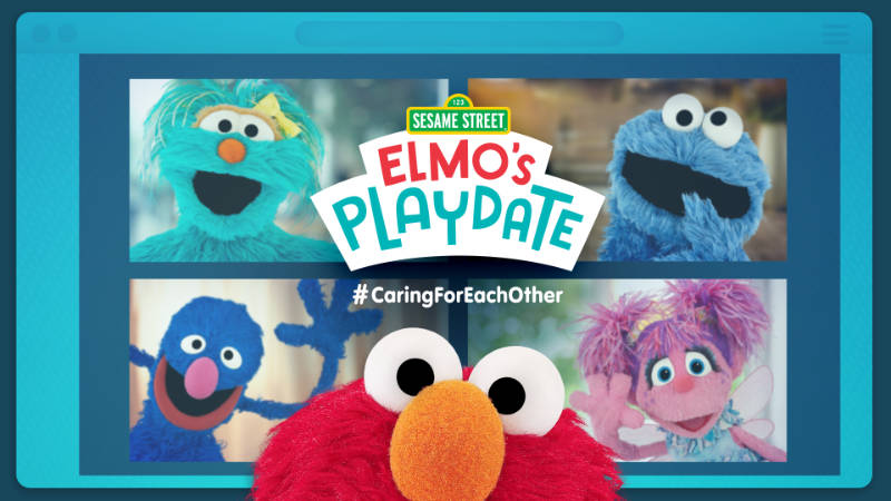 Elmo's Playdate April 14 Lin Manuel Miranda