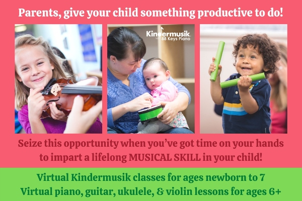 Kindermusik Savannah online classes