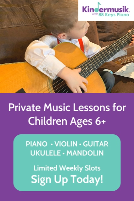 Private music lessons Savannah Pooler piano violin guitar
