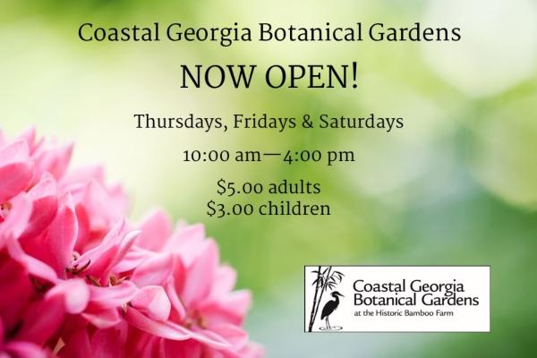 Coastal Georgia Botanical Gardens Savannah gardens