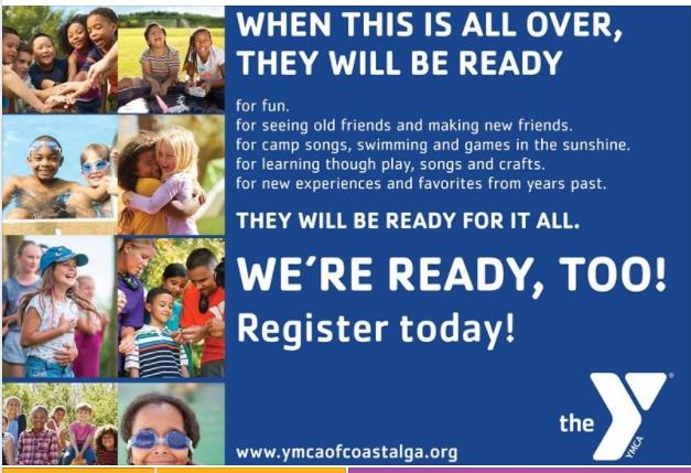 Savannah Summer Camp 2020 YMCA Coastal Georgia