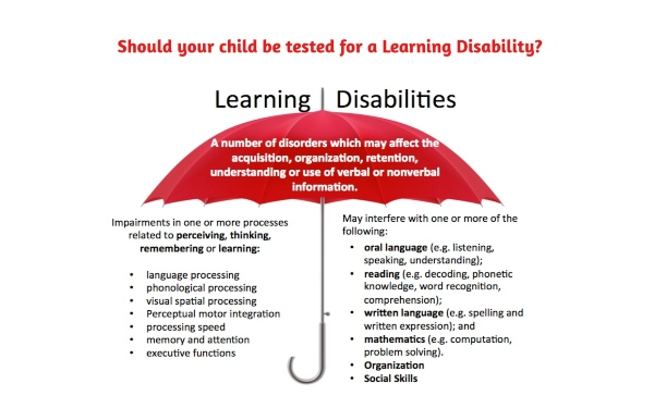 Savannah learning disabilities