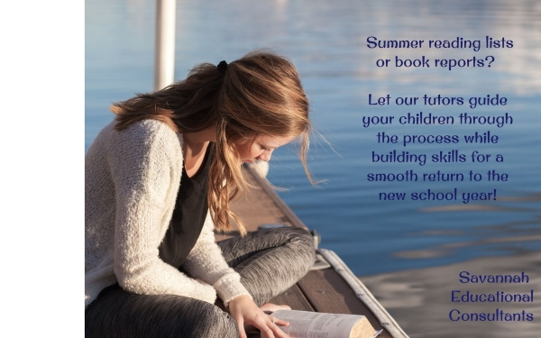 Summer Reading Savannah Educational Consultants tutoring