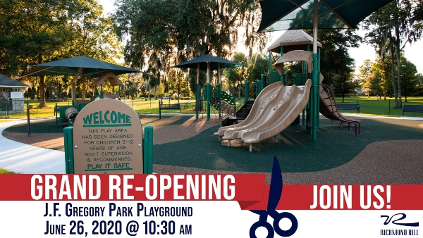 Richmond Hill JF Gregory Playground reopening