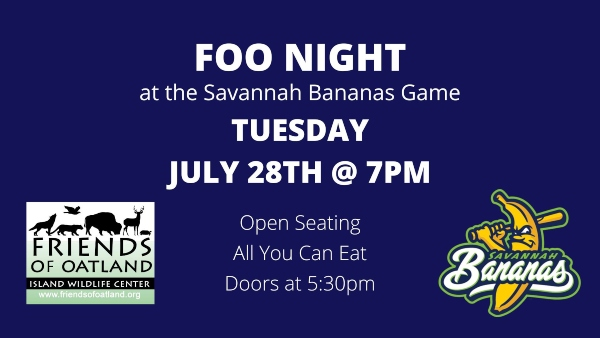 FOO night Oatland Island Savannah Bananas