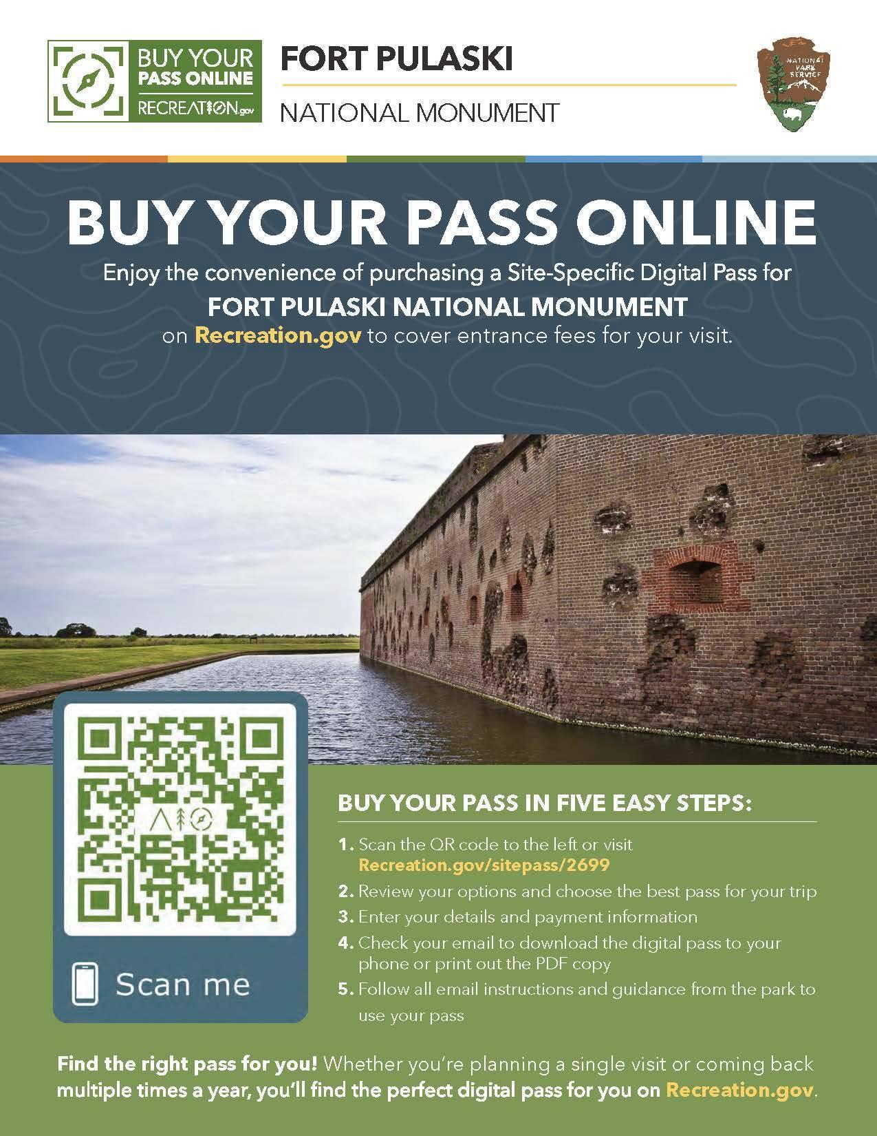 Fort Pulaski National Monument TYbee Savannah