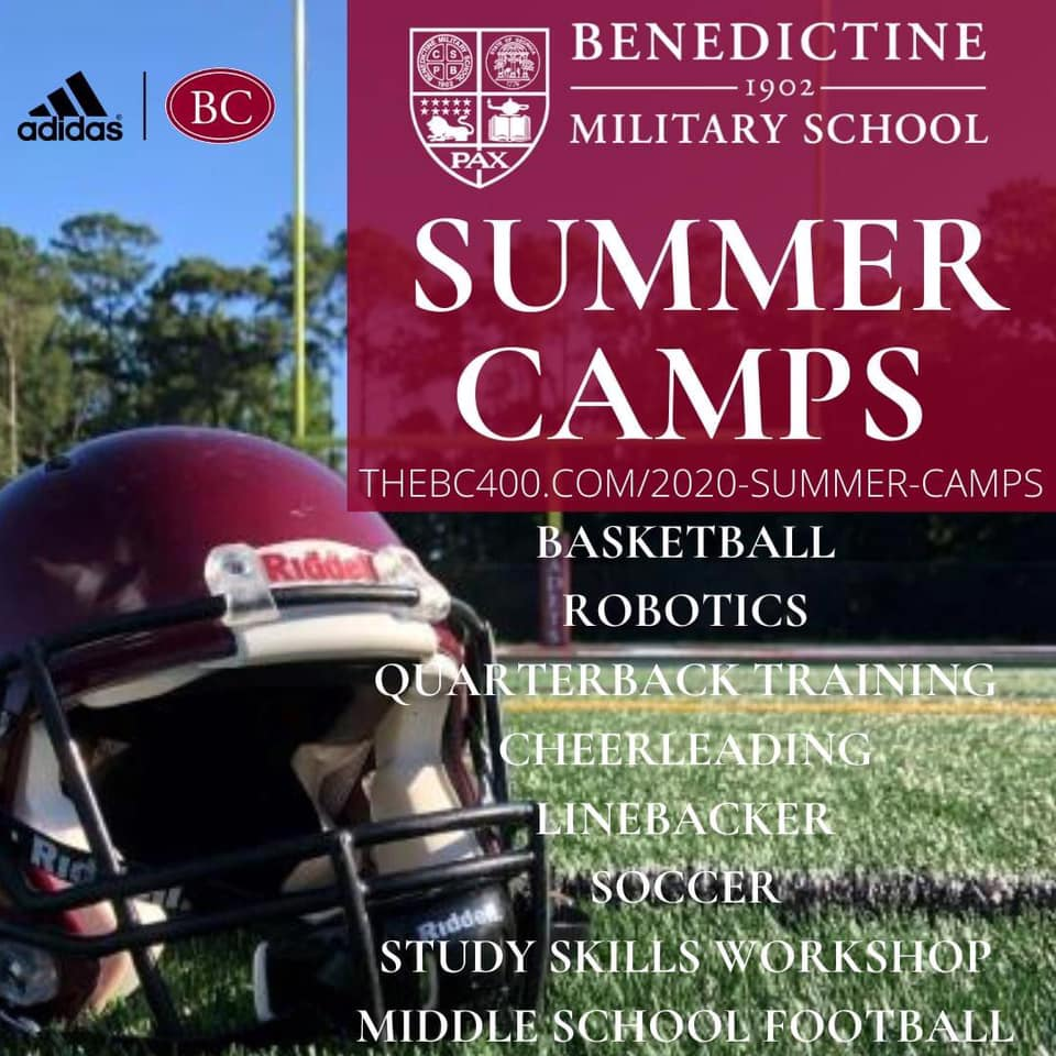 Benedictine Summer Camps Sports 2020 Savannah