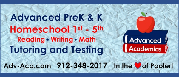 preK kindergarten tutoring Savannah testing Chatham County