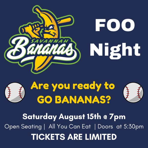 Oatland Island FOO Bananas Savannah