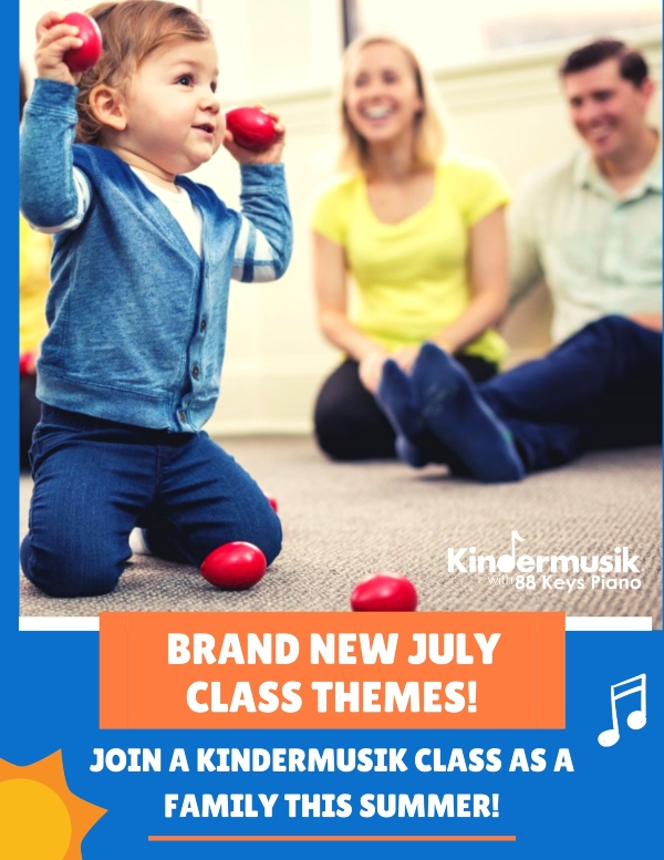 Kindermusik class Savannah july chatham county pooler