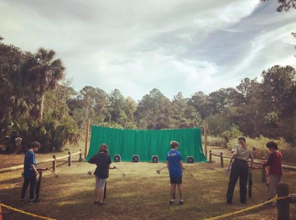 archery class skidaway island state park savannah