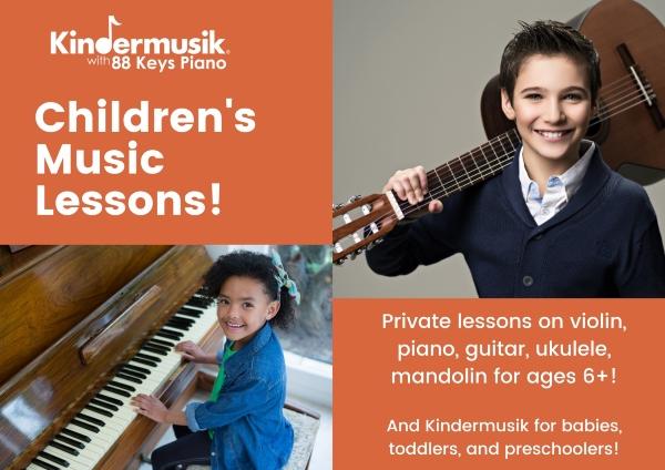 Kindermusik Savannah music lessons kids