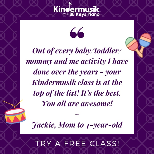 Kindermusik Savannah Chatham County toddlers