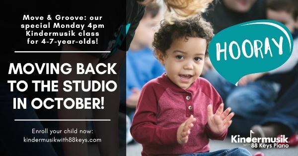 Kindermusik Savannah October classes