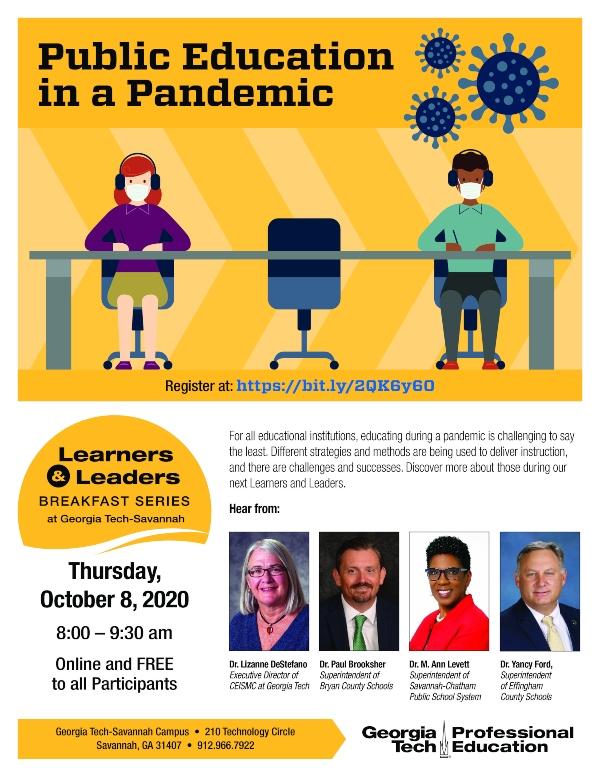 Georgia Tech Savannah FREE public education pandemic