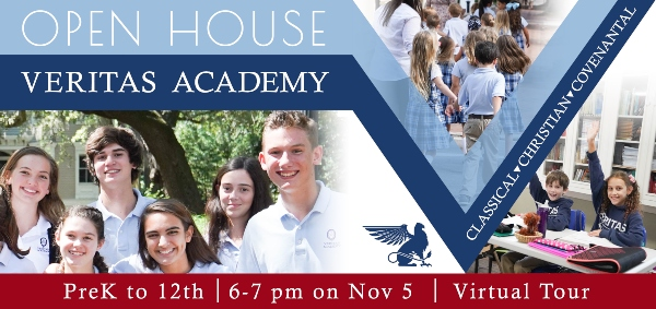 Veritas Academy Savannah schools homeschool open house Chatham County private