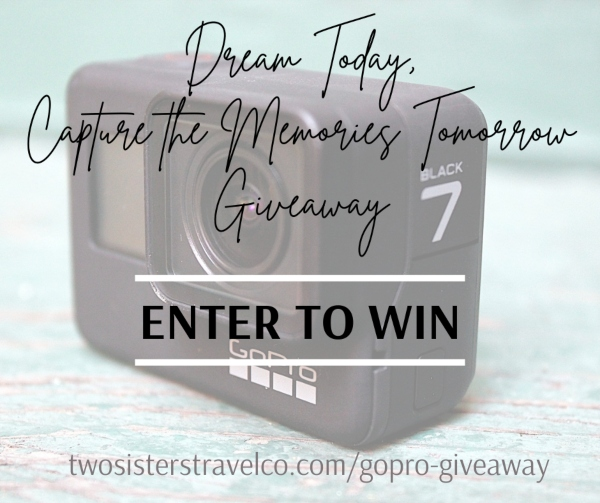 Gopro giveaway Two Sisters Travel camera