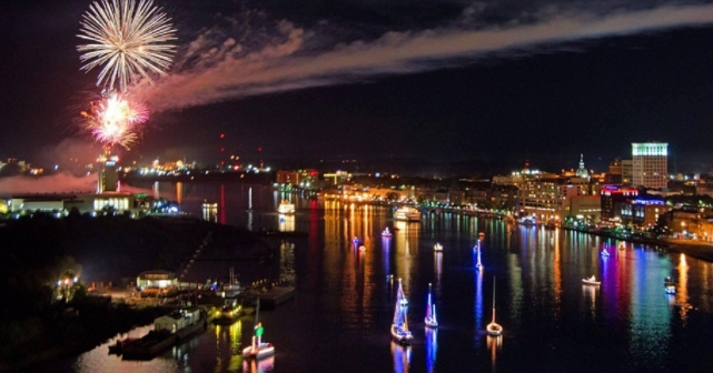 Boat Parade of Lights 2020 Savannah
