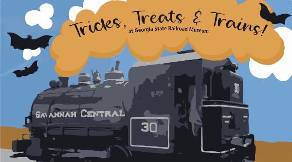 Trick Treat Georgia Railroad Museum Savannah Coastal Heritage