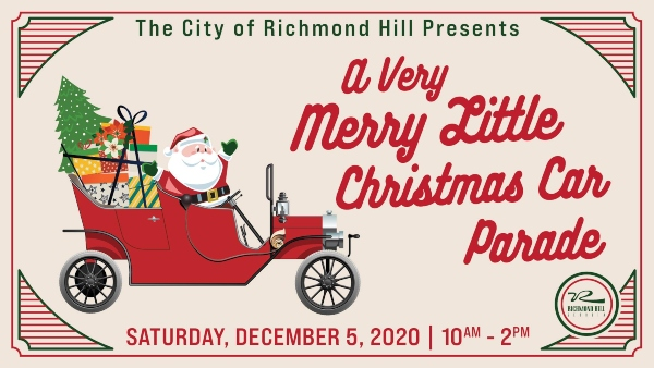 City Richmond Hill Christmas Car Parade 2020