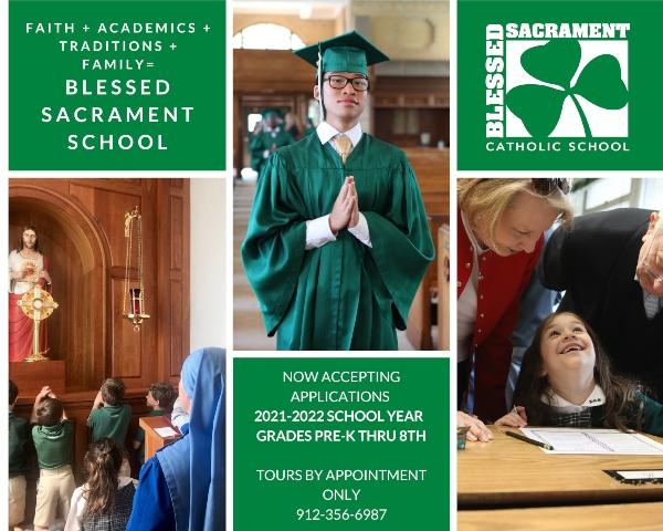 Blessed Sacrament School Savannah private schools