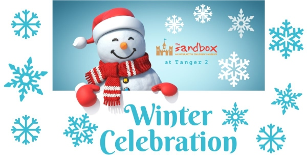 Sandbox Children's Museum Tanger Outlets Bluffton Winter Kids Celebration