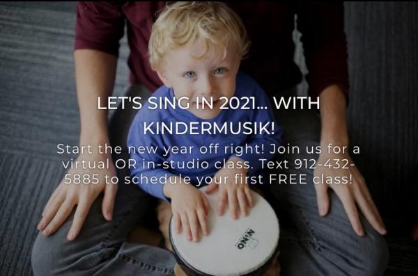 Kindermusik Savannah toddlers Chatham County