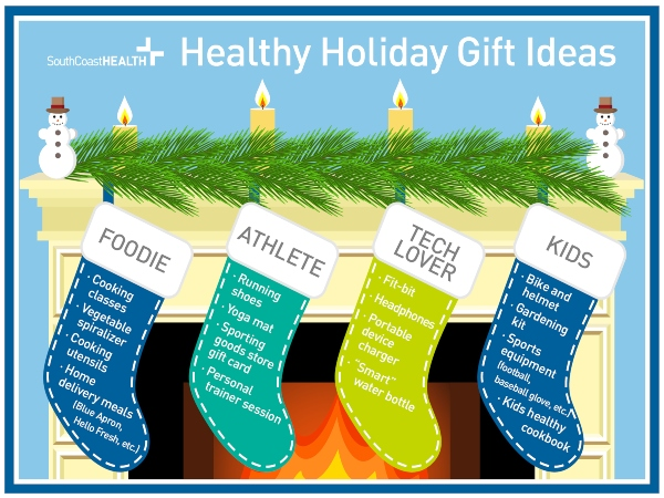 healthy holiday gift ideas SouthCoast Health Savannah