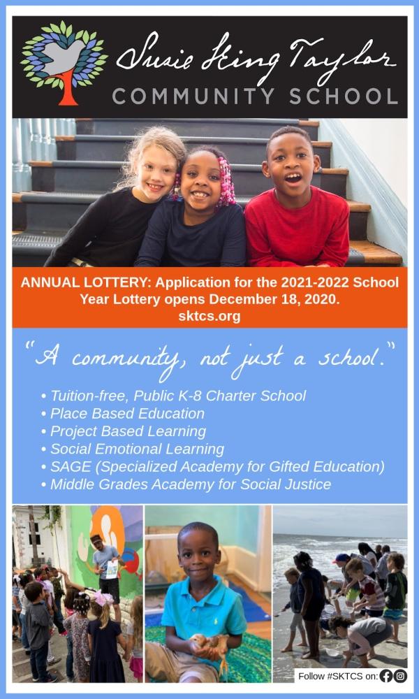 Savannah schools public charter Susie King Taylor preK kindergarten