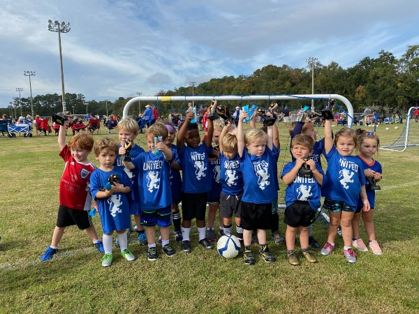 Savannah United soccer spring 2021 toddlers recreational early goals