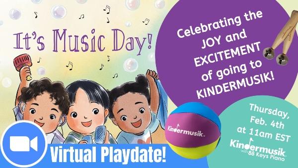 Kindermusik Savannah virtual playdate toddlers babies preschoolers Chatham County