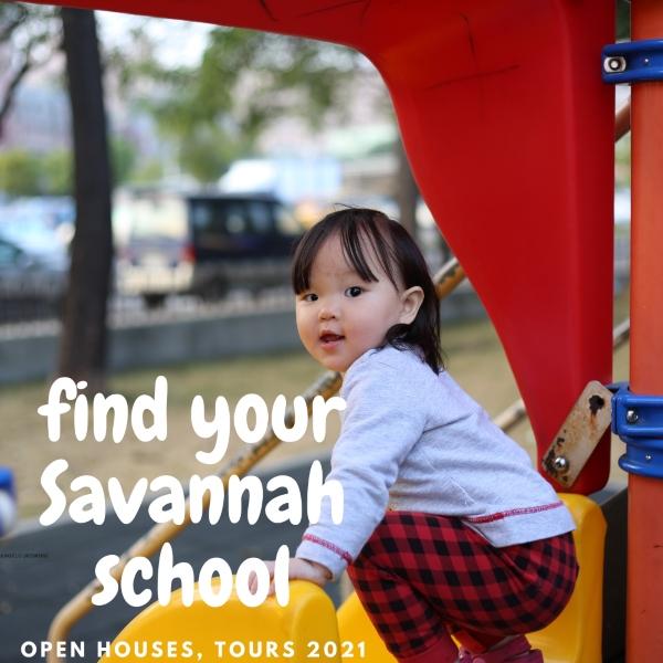Savannah schools preK kindergarten Wilmington Island Pooler Richmond Hill private public