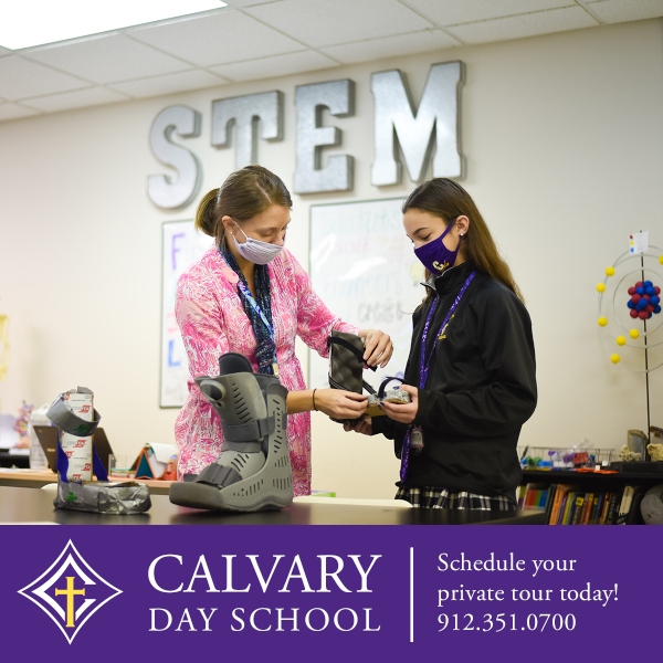 Savannah schools Calvary STEM preK preschool kindergarten Savannah