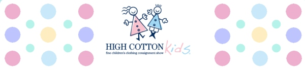 High Cotton Kids Consignment sale 2021 Savannah Chatham County children's