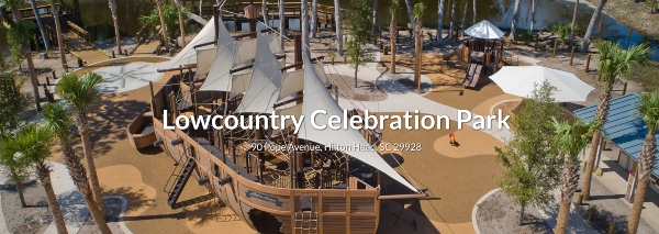 HIlton Head Island Playgrounds Adventure ship Celebration Lowcountry children free outside