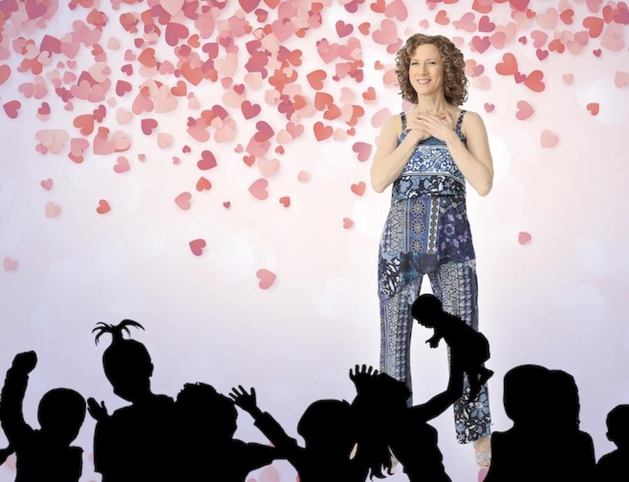 Laurie Berkner Valentines virtual concert 2021