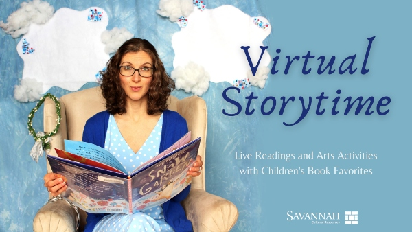 Virtual Storytime Savannah Cultural Arts Free kids