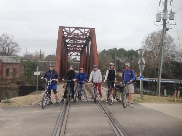 Augusta bike trails daytrip Savannah biking