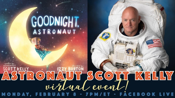 goodnight astronaut storytime virtual free scott kelly