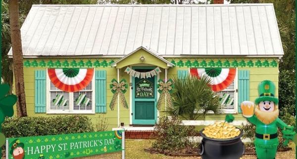 St. Patrick's festivities 2021 Tybee Savannah